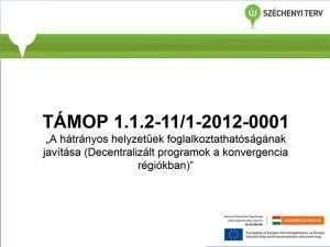 TÁMOP 1.1.2